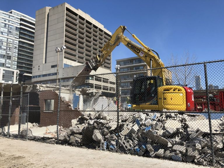 April 2020: Demolition of the WB MacMurray Field House building, the hard courts and the ice rink occurred during the months of March and April and was completed in mid-May